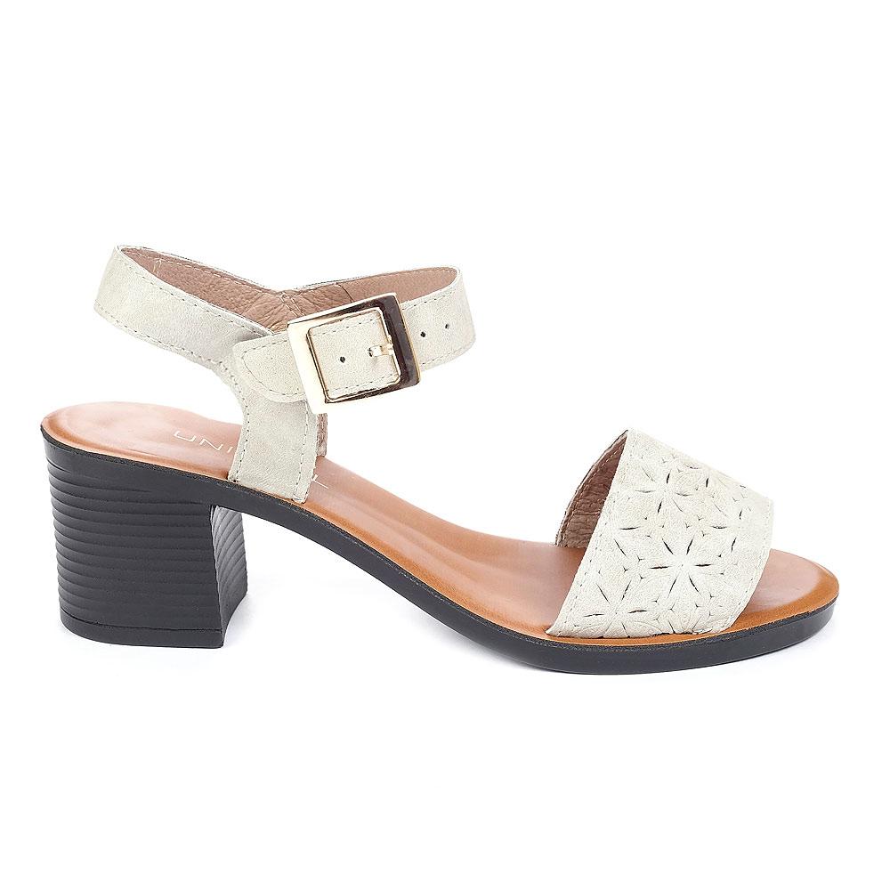 35fabffb0 Женские босоножки на каблуке 4L1023 — Женская обувь — Туфли открытые ...